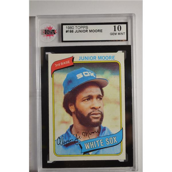 1980 Topps #186 Junior Moore