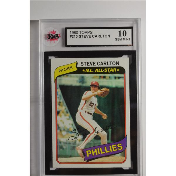 1980 Topps #210 Steve Carlton