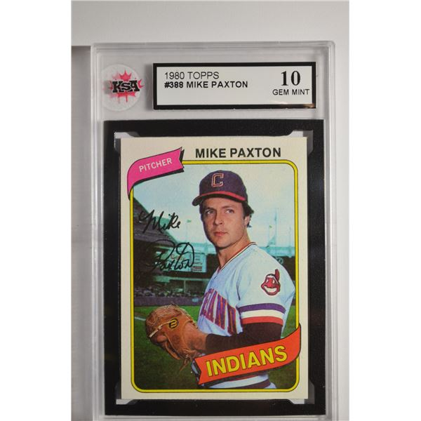 1980 Topps #388 Mike Paxton