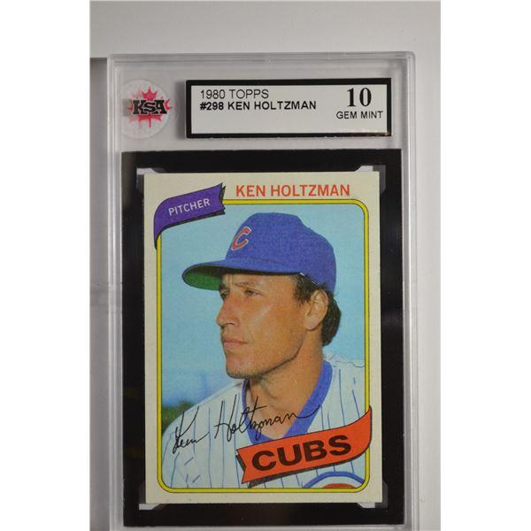 1980 Topps #298 Ken Holtzman