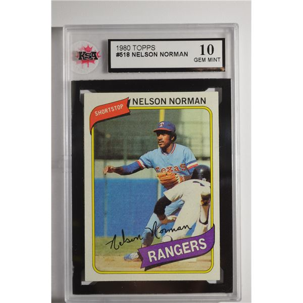 1980 Topps #518 Nelson Norman ROOKIE