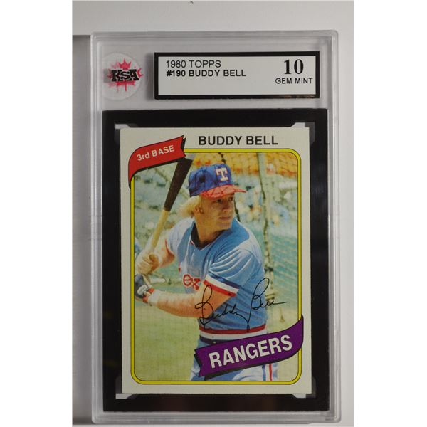 1980 Topps #190 Buddy Bell