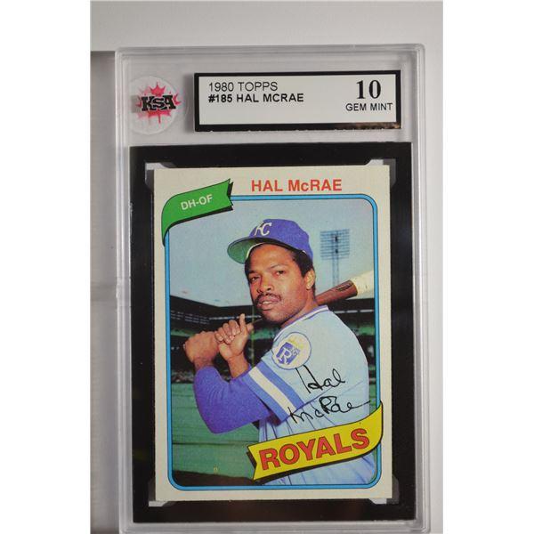 1980 Topps #185 Hal McRae