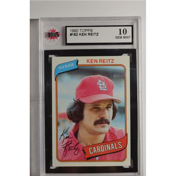 1980 Topps #182 Ken Reitz