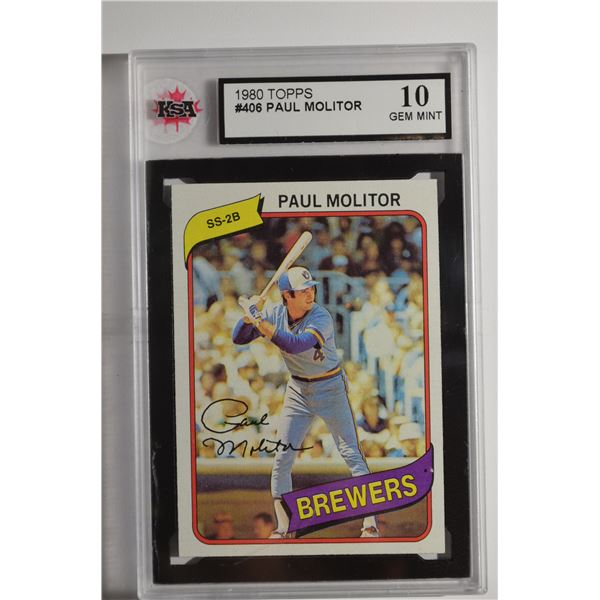 1980 Topps #406 Paul Molitor