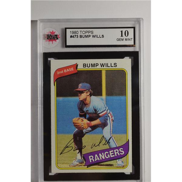 1980 Topps #473 Bump Wills