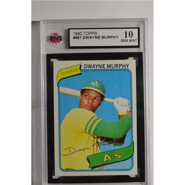 1980 Topps #461 Dwayne Murphy