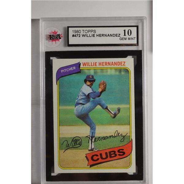 1980 Topps #472 Willie Hernandez