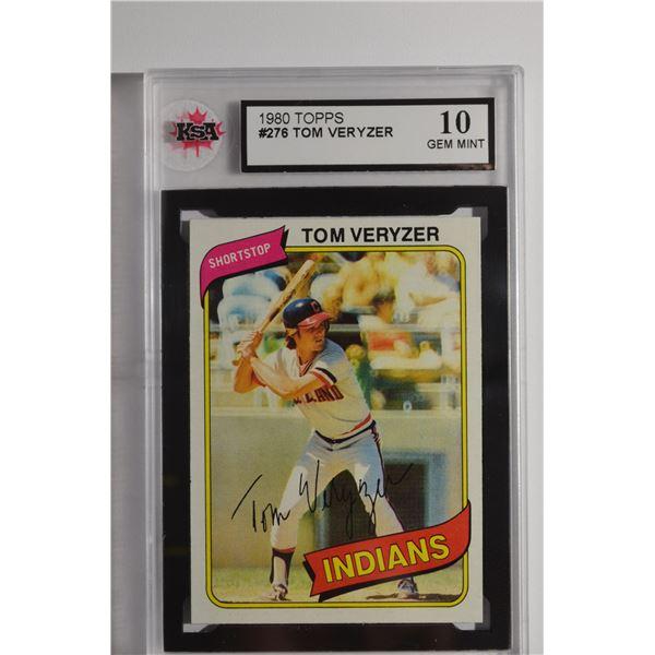 1980 Topps #276 Tom Veryzer