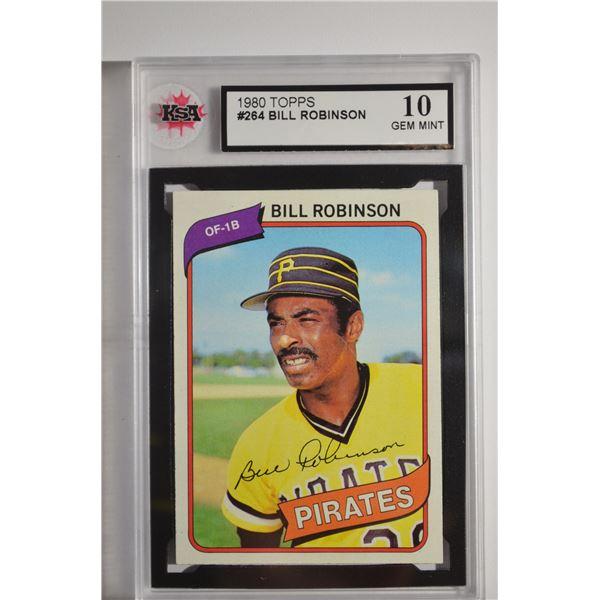 1980 Topps #264 Bill Robinson
