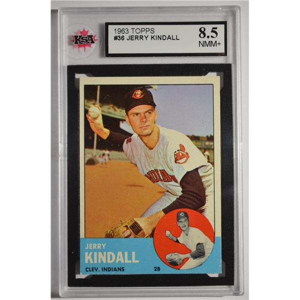 1963 Topps #36 Jerry Kindall
