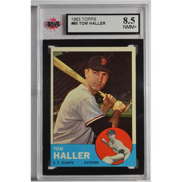 1963 Topps #85 Tom Haller