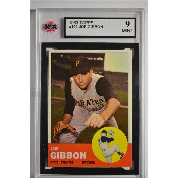1963 Topps #101 Joe Gibbon