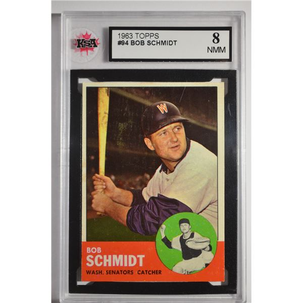 1963 Topps #94 Bob Schmidt