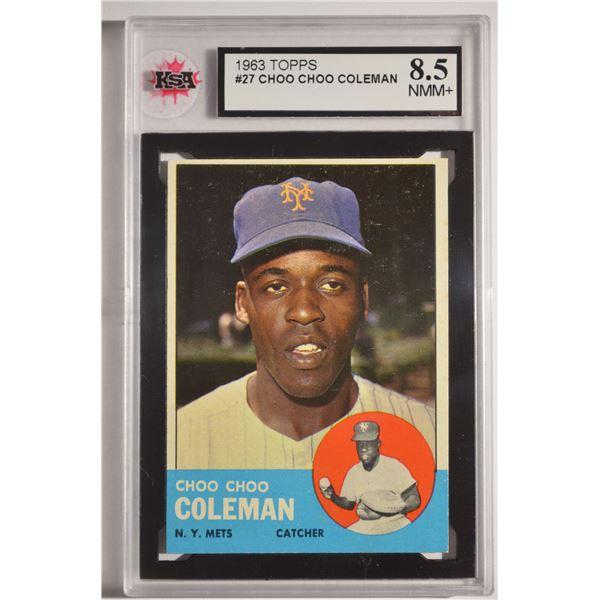 1963 Topps #27 Choo Choo Coleman