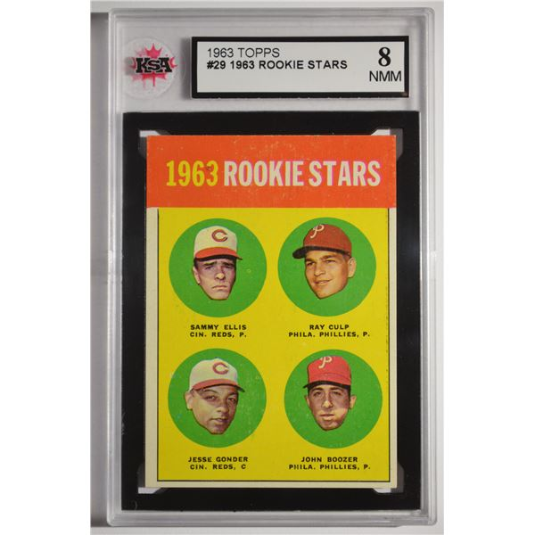 1963 Topps #29A Rookie Stars 1962