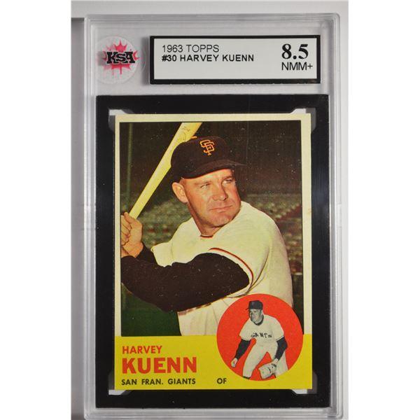1963 Topps #30 Harvey Kuenn