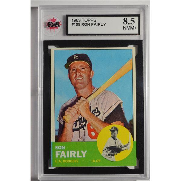 1963 Topps #105 Ron Fairly