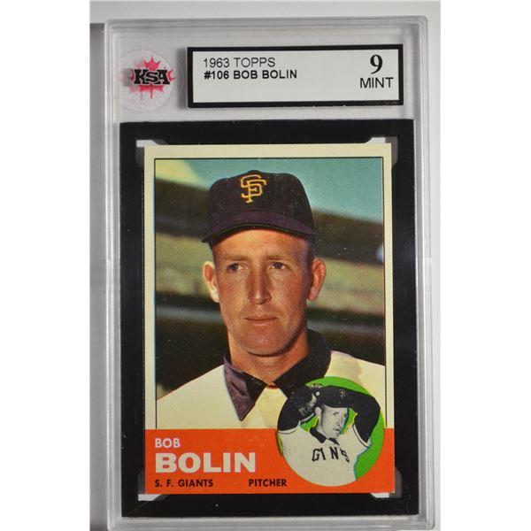 1963 Topps #106 Bobby Bolin