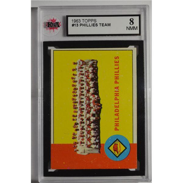 1963 Topps #13 Philadelphia Phillies TC