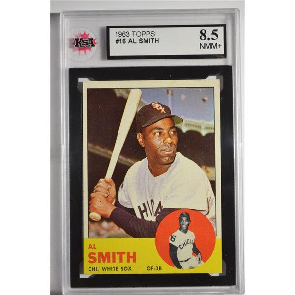 1963 Topps #16 Al Smith