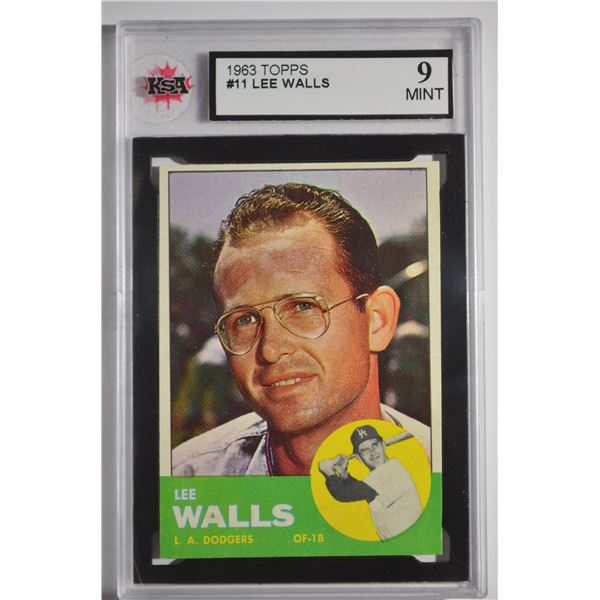 1963 Topps #11 Lee Walls