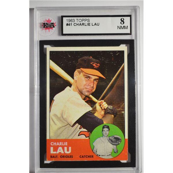1963 Topps #41 Charley Lau