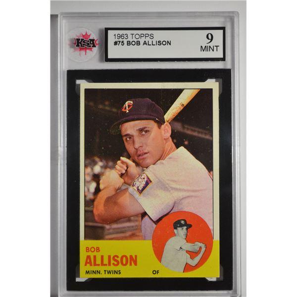 1963 Topps #75 Bob Allison