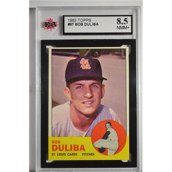 1963 Topps #97 Bob Duliba