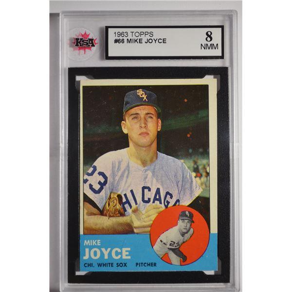 1963 Topps #66 Mike Joyce ROOKIE