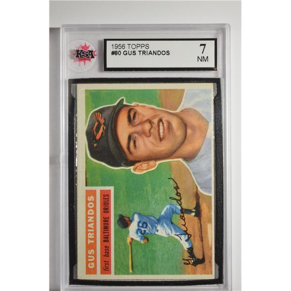 1956 Topps #80 Gus Triandos DP