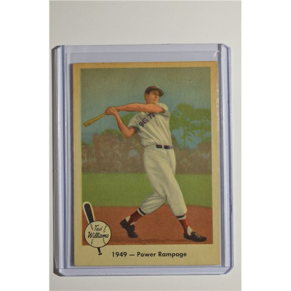 1959 Fleer Ted Williams #38 1949 Power Rampage