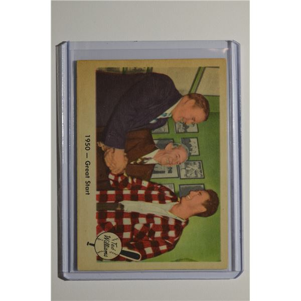 1959 Fleer Ted Williams #39 1950 Great Start