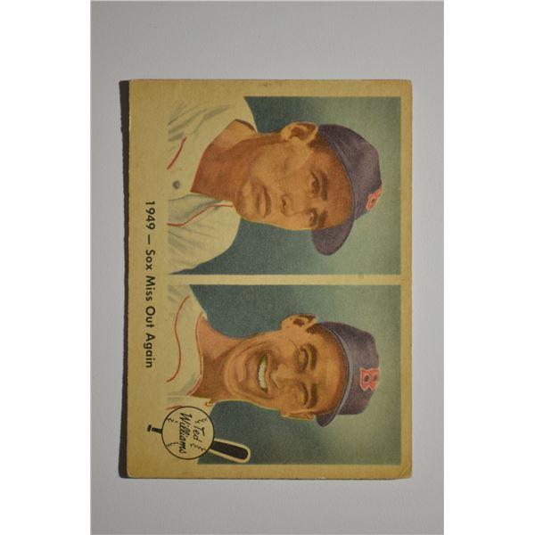 1959 Fleer Ted Williams #37 1949 Sox Miss Again