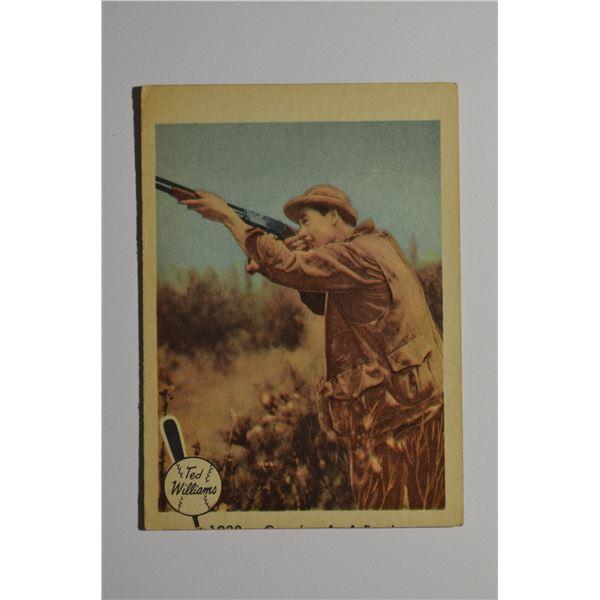 1959 Fleer Ted Williams #10 Gunning as Pastime