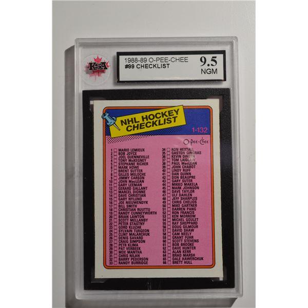 1988-89 Topps #99 Checklist 1-99