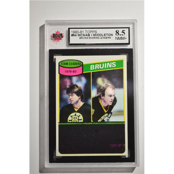 1980-81 Topps #94 Peter McNab TL