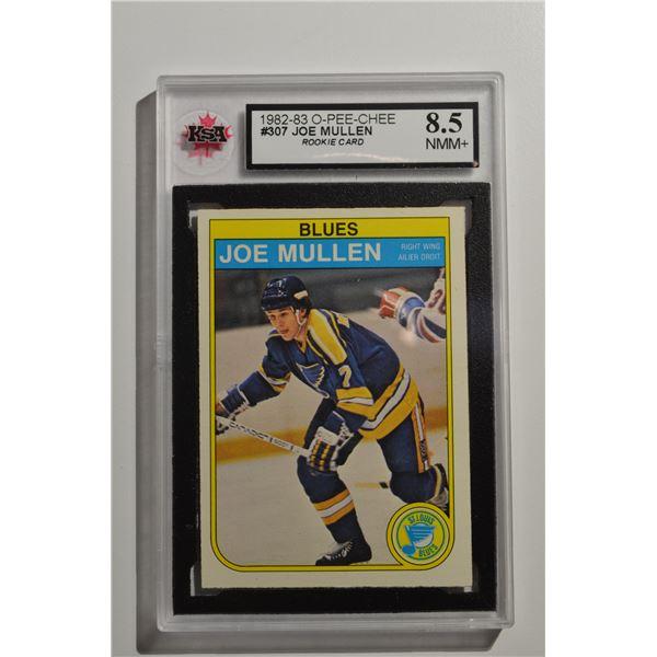 1982-83 O-Pee-Chee #307 Joe Mullen ROOKIE
