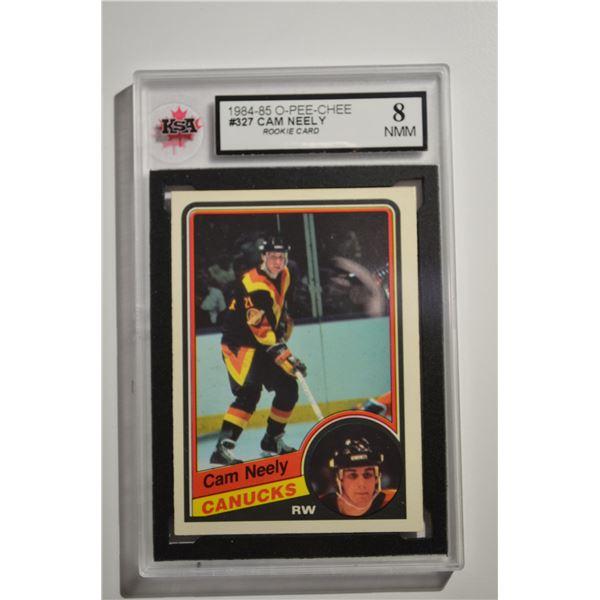 1984-85 O-Pee-Chee #327 Cam Neely ROOKIE