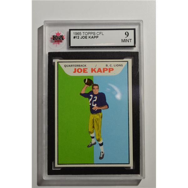 1965 Topps CFL #12 Joe Kapp (RARE at this Grade!)