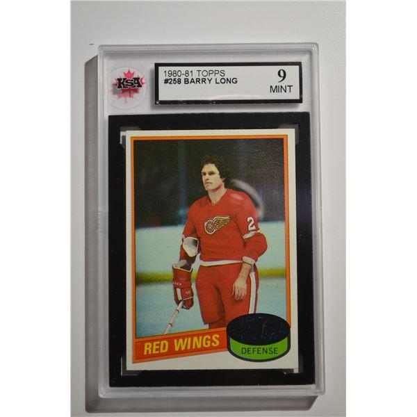 1980-81 Topps #258 Barry Long