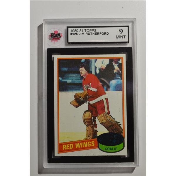 1980-81 Topps #125 Jim Rutherford