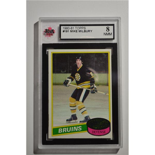 1980-81 Topps #191 Mike Milbury