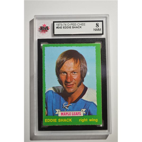 1973-74 O-Pee-Chee #242 Eddie Shack