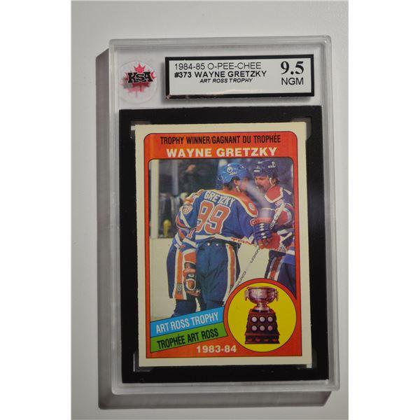 1984-85 O-Pee-Chee #373 Wayne Gretzky Ross