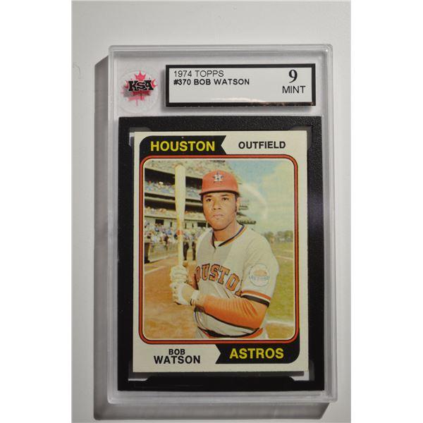 1974 Topps #370 Bob Watson