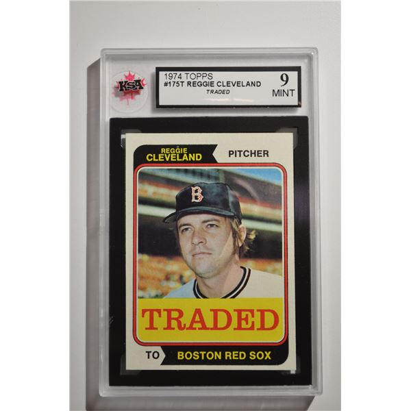1974 Topps Traded #175T Reggie Cleveland