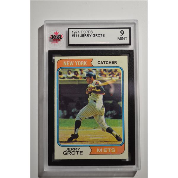 1974 Topps #311 Jerry Grote