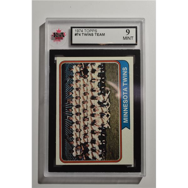 1974 Topps #74 Minnesota Twins TC