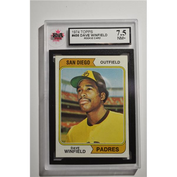 1974 Topps #456 Dave Winfield ROOKIE
